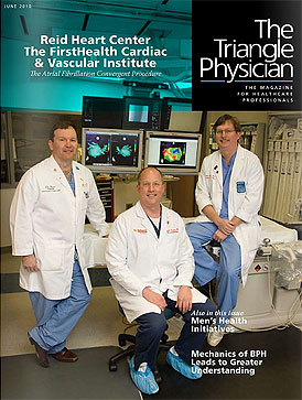 Convergent Procedure in The Triangle Physician magazine