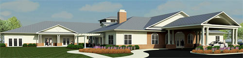 Hospice House Rendering