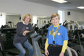 Center for Health & Fitness regulars fulfill marathon pact