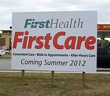 FirstHealth Announces Plans for Convenient Care Clinic in ...