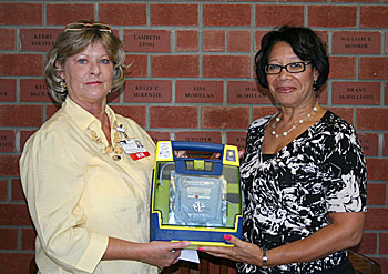AED Movement Makes Moore Safer