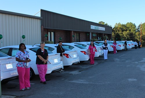 New Home Care Car Fleet
