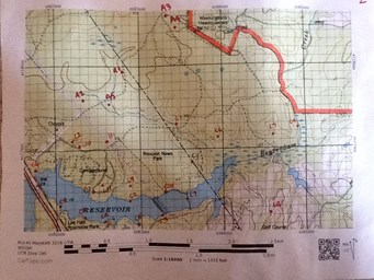 Wilderness Race Map