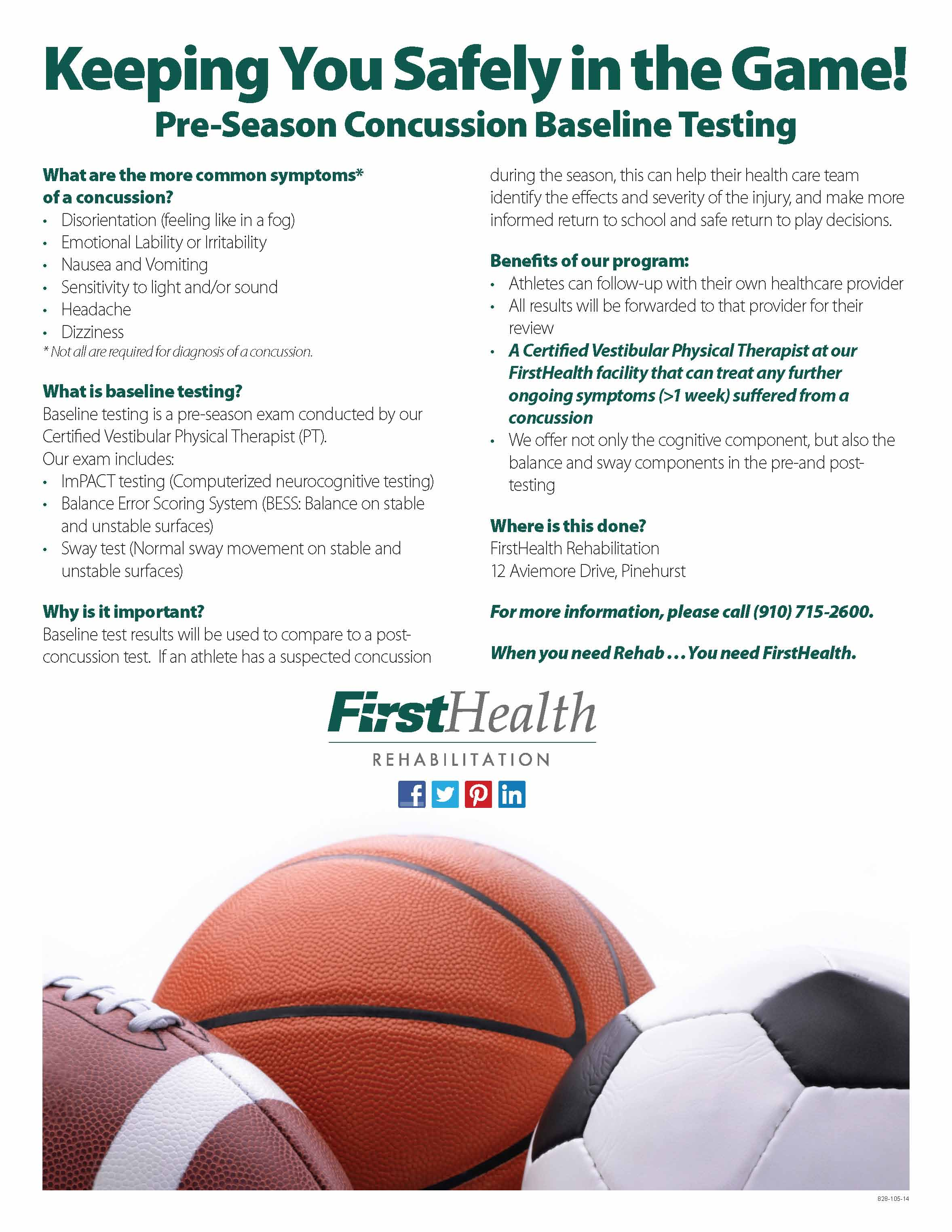 Jobs for impact physical therapy - Baselinetesting For Concussions